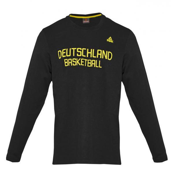 PEAK Herren Longsleeve Deutschland, schwarz (Saison 2014/2015)