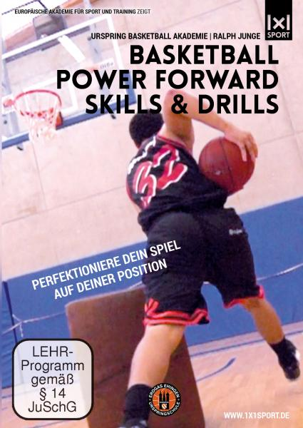 DVD Basketball Power Forward Skills and Drills