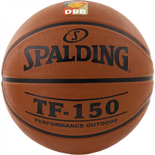 Vereinsballpaket Spalding TF 150 DBB (12 Bälle) Größe 5/6/7