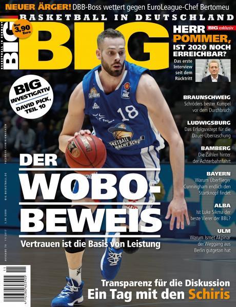 BIG - Ausgabe 70, MIT DBB-Journal Beilage!!! Dezember 2017