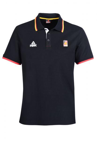 Poloshirt, schwarz (Saison 2016/2017)