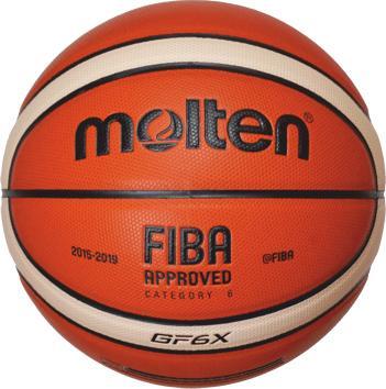Molten Basketball BGF6X DBB (Größe 6)