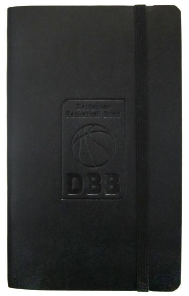 Notizbuch A6 mit DBB-Logo