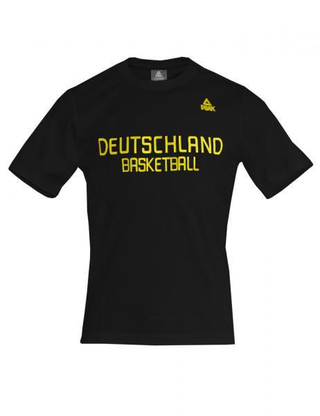 Fan T-Shirt Deutschland schwarz