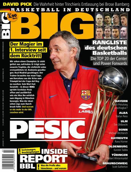 BIG - Ausgabe 73, mit DBB-Journal Beilage!! März 2018