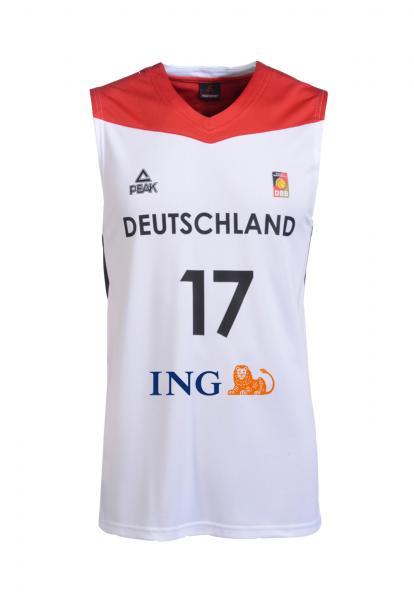 Trikot Nationalmannschaft Herren, weiß (Saison 2016/2017)