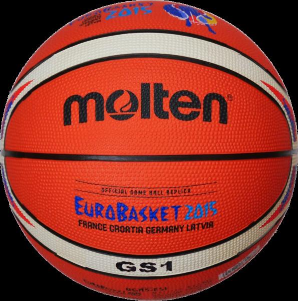 Offizieller Replika-Ball der EuroBasket 2015 (Molten BGS1)