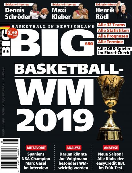 BIG - Ausgabe 89, August 2019
