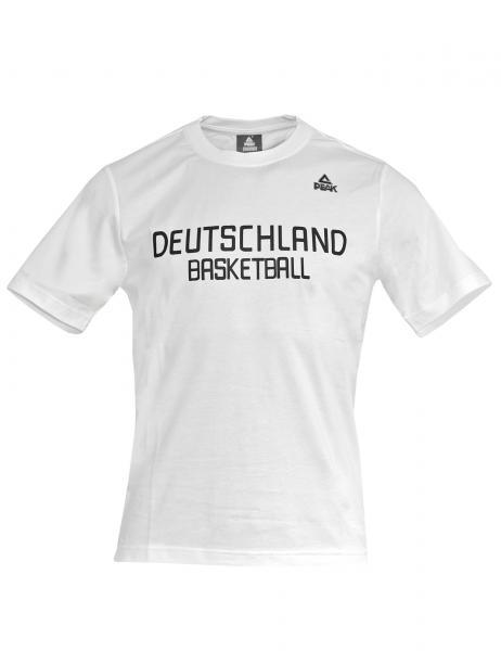 Fan T-Shirt Deutschland weiß