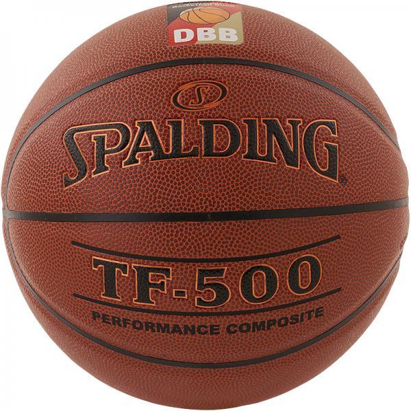 Vereinsballpaket Spalding TF 500 DBB (12 Bälle) Größe 6/7