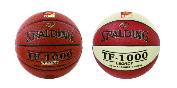 Vereinsballpaket Spalding TF 1000 DBB (12 Bälle) Größe 6/7