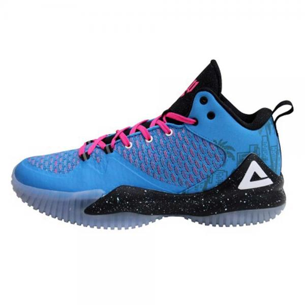 PEAK Basketballschuh LOU Williams Streetball Master (hellblau-rosa)
