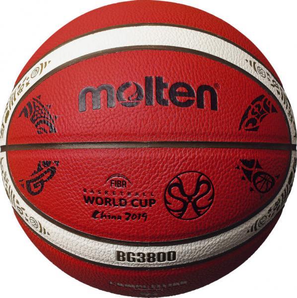 Offizieller Replika-Ball der WM 2019 in China (Molten B7G3800-M9C)
