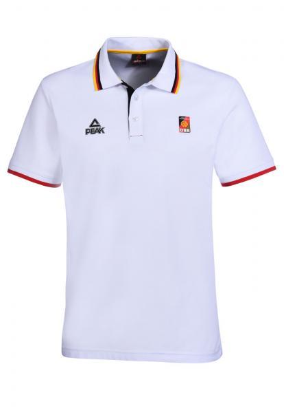 Poloshirt, weiß (Saison 2016/2017)