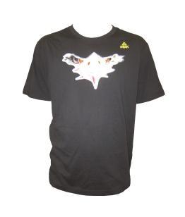 Fan T-Shirt Adler schwarz