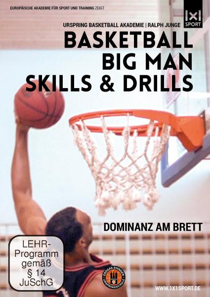 DVD Basketball Big Man Skills and Drills