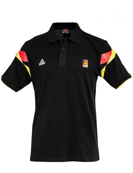 PEAK Herren Polo Deutschland, schwarz (Saison 2014/2015)