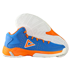 PEAK Kinderbasketballschuh Thunder (blau - orange)