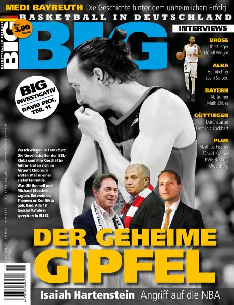 BIG - Ausgabe 71, Januar 2018