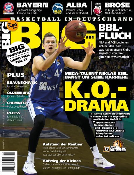 BIG - Ausgabe 81, mit DBB-Journal Beilage!! Dezember 2018