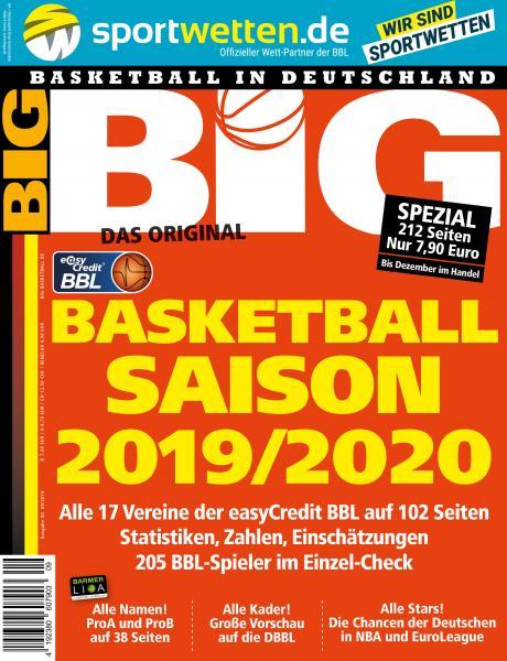 BIG - Ausgabe 90, September 2019 - Saison-Sonderheft