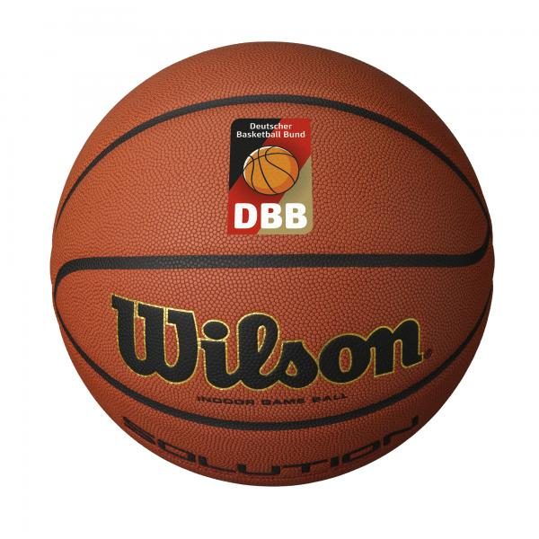 Wilson Solution DBB Official Game Ball (Größe 7)