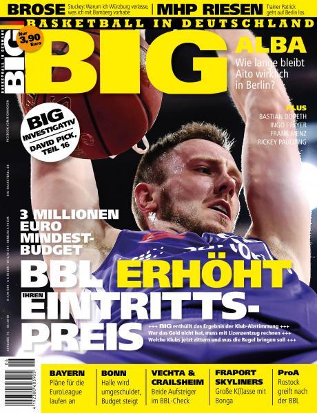 BIG - Ausgabe 76, mit DBB-Journal Beilage!! Juni 2018
