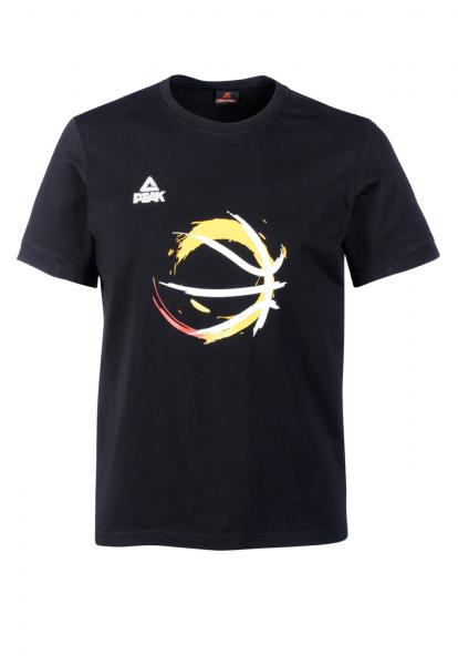T-Shirt Basketball, schwarz (Saison 2016/2017)