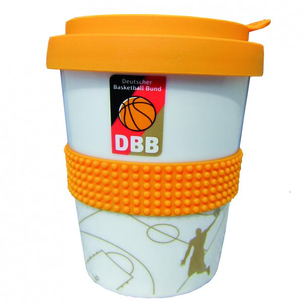 Coffee2Go Becher Basketball