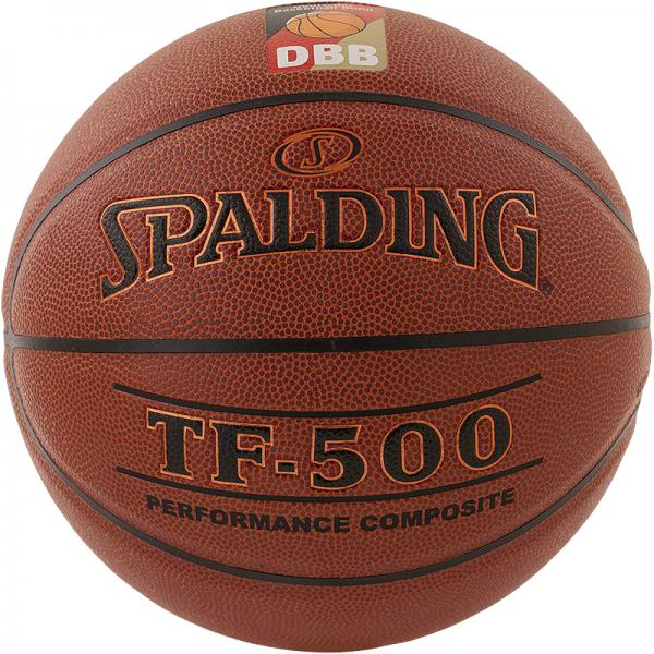 Vereinsballpaket Spalding TF 500 DBB (6 Bälle) Größe 6/7